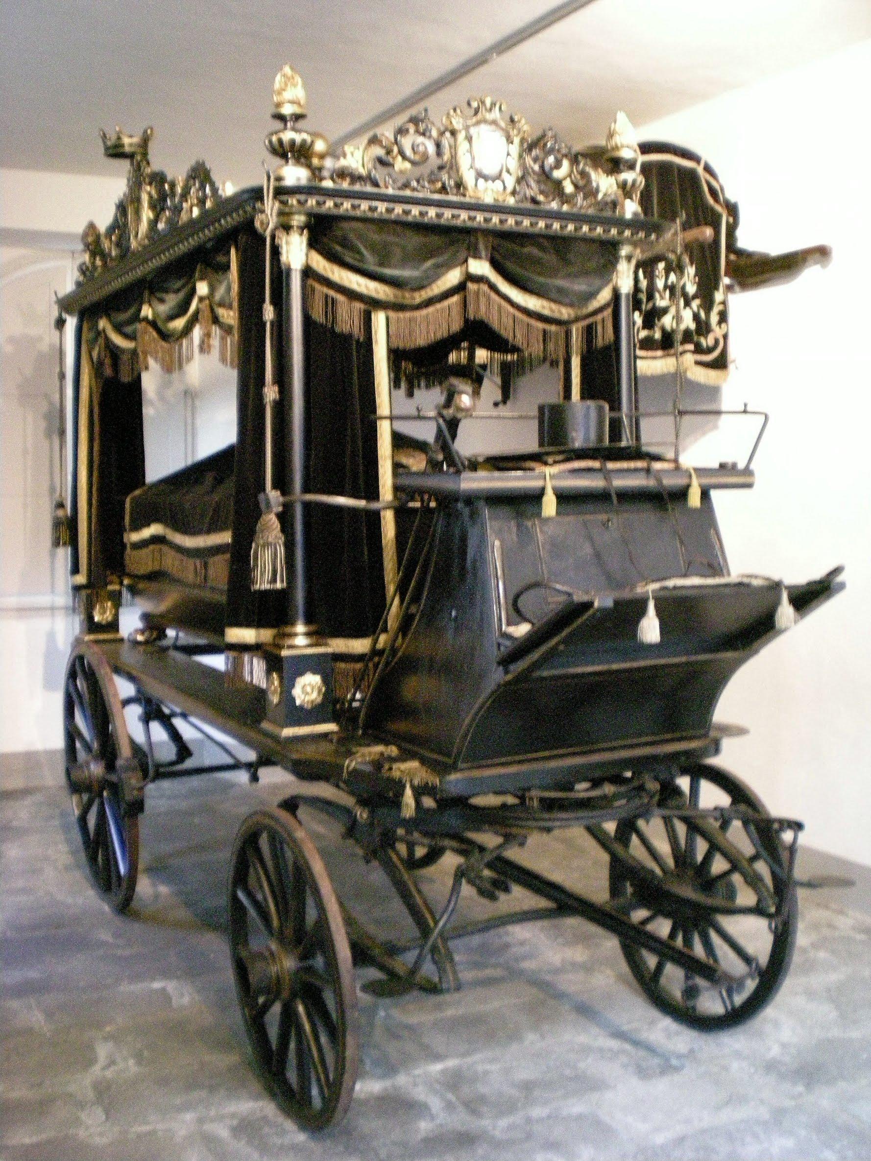 Carro funebre cavalli